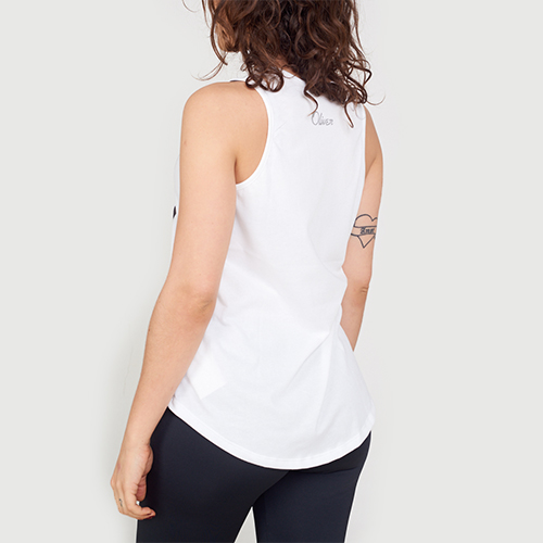Musculosa Oliver Japan White