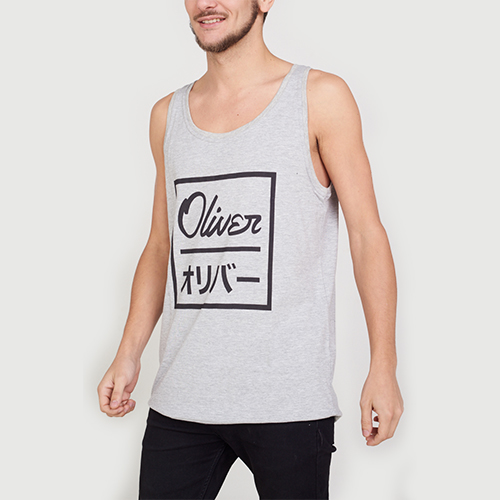 Musculosa Oliver Japan Grey