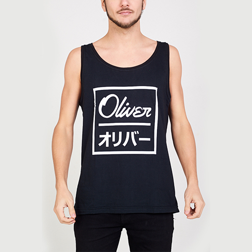 Musculosa Oliver Japan Black