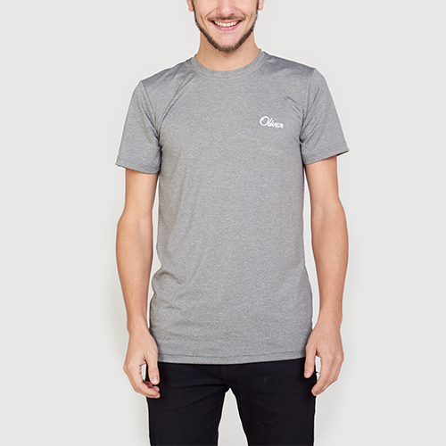Remera Grey Dash