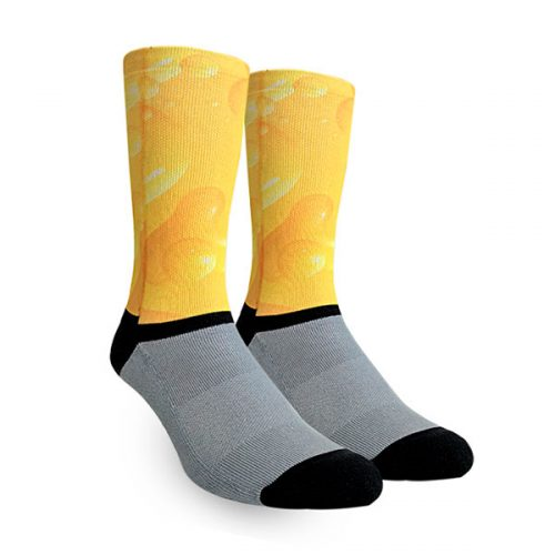 Medias Yellow Bubble Oliver Socks