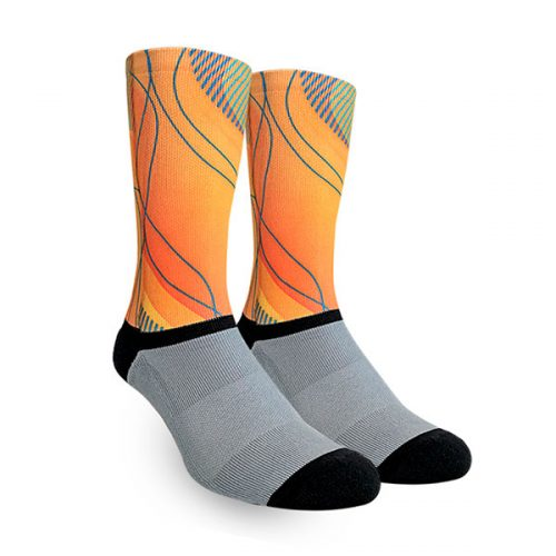 Medias Orange Mix Oliver Socks